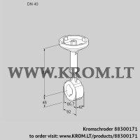 Butterfly valve BVH40W01A (88300171)