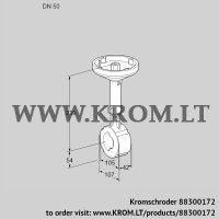 Butterfly valve BVH50W01A (88300172)
