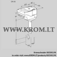 Butterfly valve IBH80Z01A/40A2D (88300198)