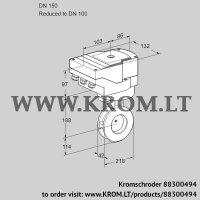 Butterfly valve IBGF150/100Z05/20-60W3E (88300494)