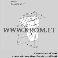 Butterfly valve IBG150/100Z05/40A2A (88300499)