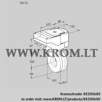 Butterfly valve IBA50Z05/20-60W3T (88300680)