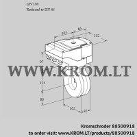 Butterfly valve IBG100/65W05/40A2A (88300918)