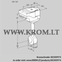 Butterfly valve IBHS100Z01A/40A3D (88300974)
