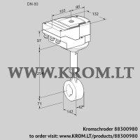 Butterfly valve IBHS80Z01A/40A3A (88300980)