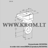 Butterfly valve IBAF80Z05/40A2A (88300986)