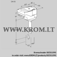 Butterfly valve IBH65Z01A/20-30W3E (88301090)