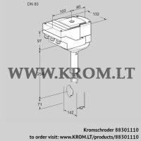 Butterfly valve IBH80Z01A/20-30W3E (88301110)