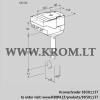 Butterfly valve IBH80Z01A/40A2AR10 (88301137)