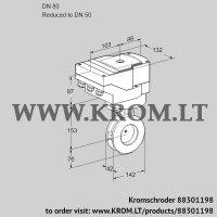 Butterfly valve IBAF80/50Z05/20-60W3E (88301198)
