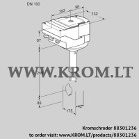 Butterfly valve IBH100Z01A/20-15W3E (88301236)
