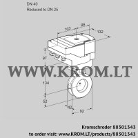Butterfly valve IBAF40/25Z05/40A2A (88301343)