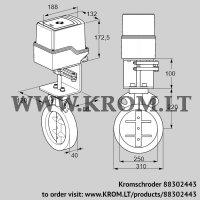Butterfly valve IDR250Z03D100AS/50-15W15E (88302443)