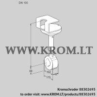 Butterfly valve BVHR100Z01A (88302693)