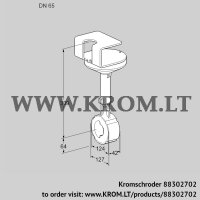 Butterfly valve BVHR65W01A (88302702)