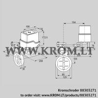Butterfly valve IDR80Z03D350GDW/50-30W20E (88303271)