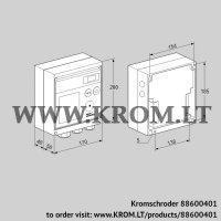 Burner control unit BCU370WI1FEU1D3 (88600401)