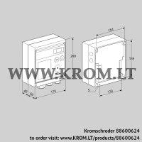 Burner control unit BCU370WI2FEU0D3 (88600624)