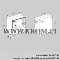 Burner control unit BCU460-3/1LWGBS4 (88610336)