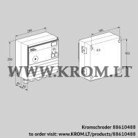 Burner control unit BCU460-3/1RGB (88610488)