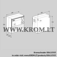Burner control unit BCU460T-10/2W3- (88610505)