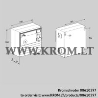 Burner control unit BCU460T-10/2W8-D3B1/1 (88610597)