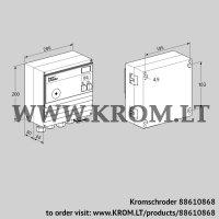 Burner control unit BCU460-3/1R3GBS4B1/1 (88610868)