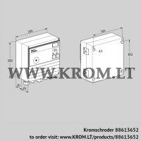 Burner control unit BCU460-3/1LWGBD3S2B1/1E1 (88613652)