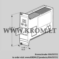 Burner control unit PFU760NK1 (88650352)