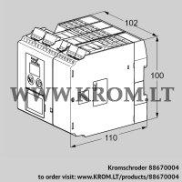 Burner control unit BCU560WC0F0U0D0K2-E (88670004)