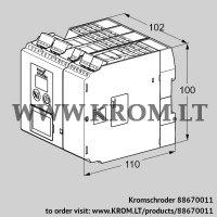 Burner control unit BCU565WC1F1U0D2K2-E (88670011)