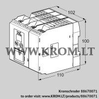 Burner control unit BCU565WC0F3U0D0K0-E (88670071)