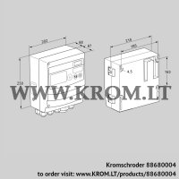 Burner control unit BCU460Q2P2C0D0000K1E1-/LM400QF3O0E1- (88680004)