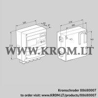 Burner control unit BCU460Q3P1C0D0000K1E0-/LM400QF0O0E1- (88680007)